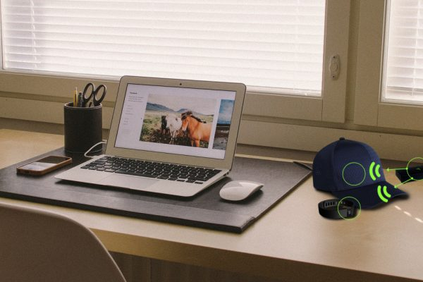 Powercast Enables Wireless Charging of Enabled Devices on a Desk