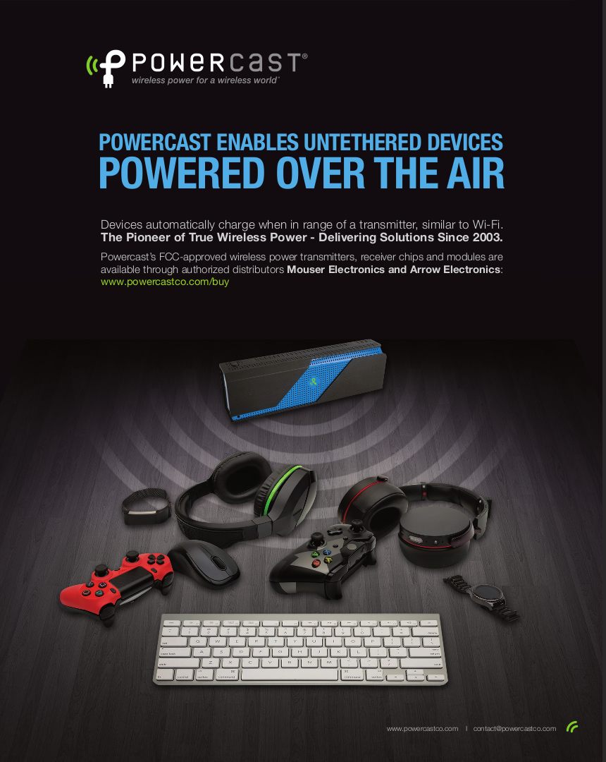 Multimedia Powercast Co Wireless Power Transmitter Circuit Full Page Ad Powerspot Charging Zone